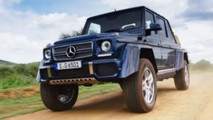 Mercedes Maybach G650 Landaulet: eleganza e potenza in off road [VIDEO]