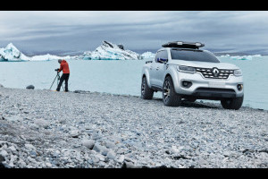 Renault ALASKAN Concept: l'anticipazione di un futuro pick-up [FOTO E VIDEO]