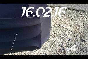Alpine: la nuova sportiva francese attesa per il 16 febbraio 2016