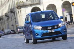 Suzuki Celerio è l'auto a benzina più efficiente del mercato italiano