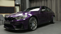 Individual BMW M3: Twilight Purple e Competition Pack [FOTO]