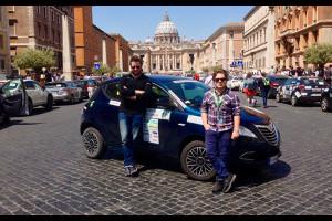 Ecorally 2015: l'avventura di Motorionline e della Lancia Ypsilon 30th Anniversary Natural Power