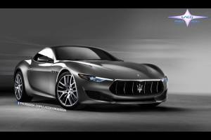 Maserati Alfieri: pensando alla versione prodotta, potrebbe essere così? [RENDERING]