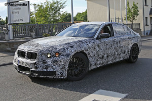 Nuova BMW M5 catturata da vicino [FOTO SPIA]