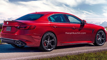 Alfa Romeo Giorgio Quadrifoglio - Rendering
