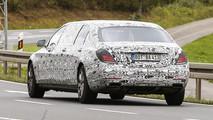 Mercedes S600 Pullman - Foto spia 23-10-2014