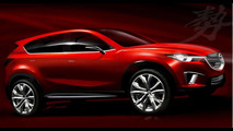 Mazda Minagi Concept bozzetti