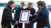 EMC Lotus F1 Guinness World Record