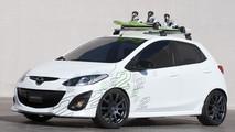 Mazda 2Evil, Mazda 2Active Surf, Mazda 2Active Snow