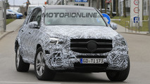 Mercedes GLE MY 2019 - Foto spia 24-03-2017
