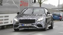 Mercedes-AMG S63 Cabrio MY 2018 - Foto spia 22-03-2017