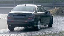 Mercedes Classe C restyling spy (2)