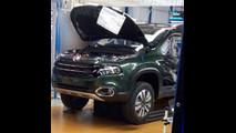 Fiat Toro - Foto spia dall'impianto brasiliano