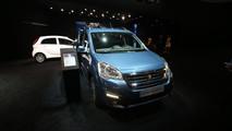 Peugeot Partner Tepee Electric Foto Live - Salone di Ginevra 2017