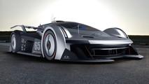 Jaguar SS-107 Le Mans - Rendering