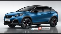 Peugeot 2008 MY 2019 - Rendering