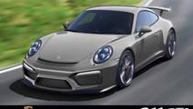 Porsche 911 GT3 MY 2017 - rendering by Renna Design