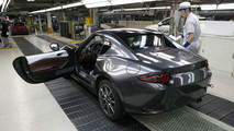 Mazda MX-5 RF inizio produzione 5 ottobre 2016