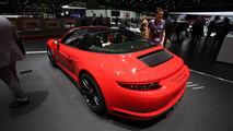 Porsche 911 Targa 4 GTS - Salone di Ginevra 2017