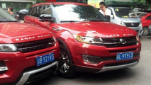 Range Rover Evoque - Landwind X7: scontro tra le strade di Chongqing