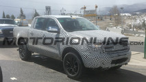 Ford Ranger MY 2019 - Foto spia 04-05-2017