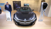 BMW i8 Frozen Black - Salone di Ginevra 2017