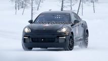 Foto Porsche Mission E foto spia 2 febbraio 2017