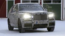 Rolls Royce Cullinan 2018 - Foto spia 08-02-2017