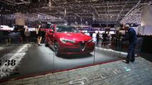 Alfa Romeo Stelvio Foto Live - Salone di Ginevra 2017