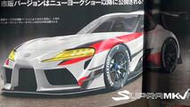 Toyota Supra MY 2019 - Foto leaked