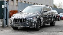 Maserati Levante GTS foto spia 4 novembre 2017