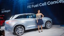 Hyundai FE Fuel Cell Concept LIVE - Salone di Ginevra 2017