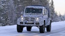 Mercedes Classe G 500 4×4 Pick Up foto spia 17 gennaio 2017