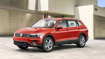 Nuova Volkswagent Tiguan Allspace Salone di Detroit 2017