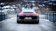 Porsche 911 Carrera 4S Prova su Strada 2017