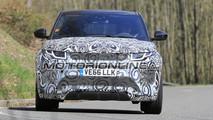Range Rover Evoque seconda generazione foto spia 3 maggio 2017