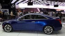 Nuova Cadillac ATS Coupé, le foto LIVE dell'anteprima al Salone di Detroit 2014