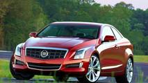 Cadillac ATS Coupé 2015: non ci sarà il logo a corona