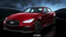 Infiniti Q50 Eau Rouge concept svelata prima del Salone di Detroit
