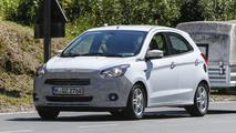 Ford Ka: foto spia del nuovo modello europeo
