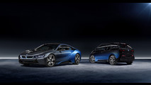 Garage Italia Customs e BMW: l'edizione CrossFade della i8 e i3 al Salone di Parigi 2016 [FOTO]