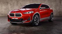 BMW X2 Concept, a Parigi giù il velo dal SUV medio che verrà [FOTO]