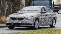 Nuova BMW Serie 5 beccata durante i test in Germania [FOTO SPIA]