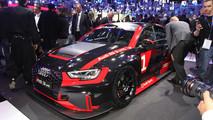 Salone di Parigi 2016, nuova Audi RS 3 LMS: l'impegno dei Quattro Anelli nel TCR [FOTO LIVE]