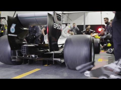 F1, come diventano i pit-stop con le gomme 2017
