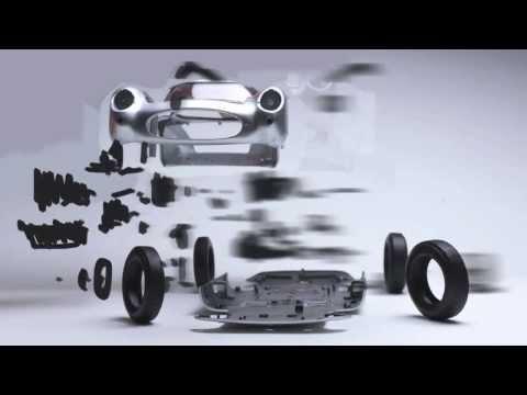 L'artista che scatta foto di auto disintegrate