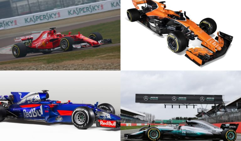 F1 2017, vota la livrea più bella