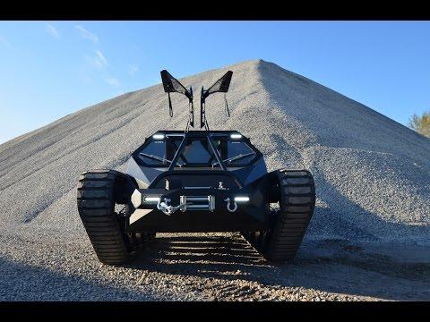 Ripsaw EV2, il Super Carro Armato di Lusso