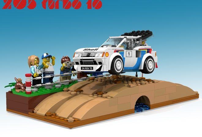 La Peugeot 205 T16 potrebbe presto essere un modello LEGO