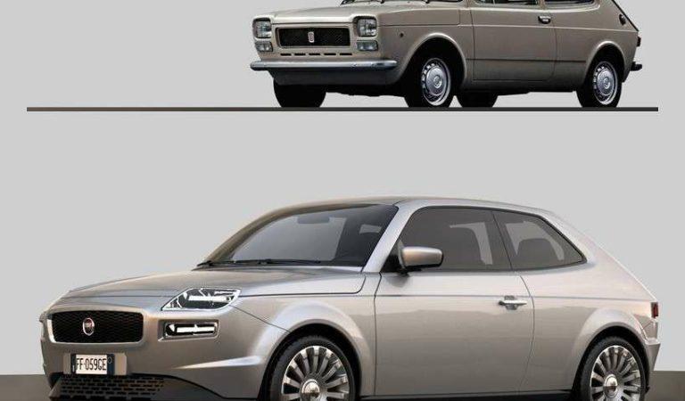 Fiat 127, potrebbe tornare con questa linea? [RENDER]